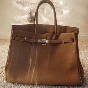 FLAWLESS faux Hermès Bag